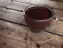 Copo do chá na tabela Foto de Stock Royalty Free