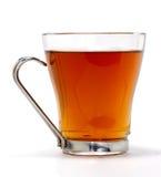 Copo do chá no vidro Fotos de Stock