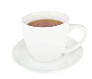 Copo do chá preto. Foto de Stock Royalty Free
