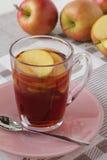 Copo do chá preto Fotografia de Stock