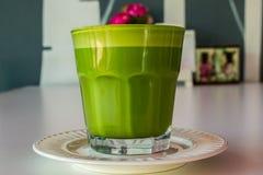 Copo do chá verde Foto de Stock Royalty Free