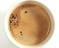 Copo do chocolate quente imagens de stock