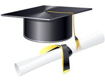 Copo do estudante Imagens de Stock