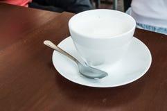 Copo do leite Foto de Stock