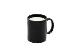 Copo do leite. Imagens de Stock
