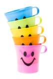 Copo do sorriso da pilha Imagem de Stock Royalty Free