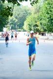 Copo do Triathlon de Ucrânia e copo de Bila Tserkva 24 de julho de 2016 imagem de stock