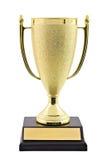 Copo do troféu do ouro Imagem de Stock