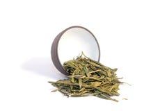 Copo e chá erval. Fotos de Stock