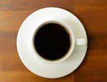 Copo e saucer de café fotografia de stock royalty free