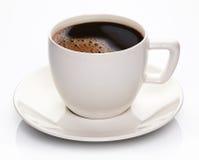 Copo e saucer de café fotografia de stock