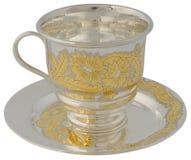 Copo e saucer de chá imagem de stock royalty free