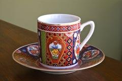 Copo e saucer de chá Imagens de Stock Royalty Free