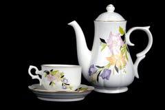 Copo e teapot imagens de stock royalty free