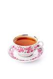 Copo elegante da porcelana do chá imagens de stock royalty free