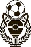 Copo europeu do futebol ilustração royalty free