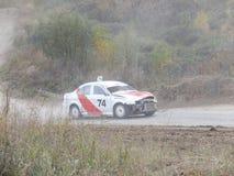 Copo final de Rússia nos autocross Imagem de Stock Royalty Free