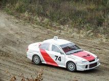 Copo final de Rússia nos autocross Fotografia de Stock
