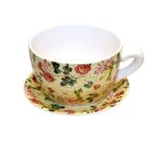 Copo floral Imagem de Stock Royalty Free
