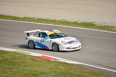 Copo GT3 &#x28 de Porsche 911; Datilografe 996) em Monza Imagens de Stock Royalty Free
