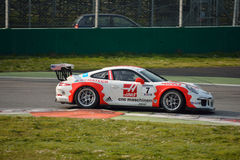 Copo GT3 de Porsche 911 em Monza Fotografia de Stock Royalty Free