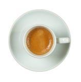 Copo italiano do café. Fotos de Stock