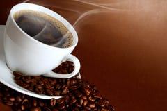 Copo morno do ciffee Fotografia de Stock