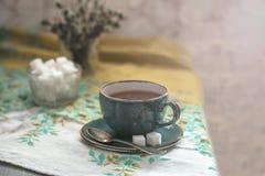 Copo quente do chá Fotos de Stock