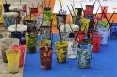 copos Fotografia de Stock Royalty Free