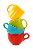 Copos coloridos Foto de Stock