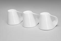 Copos da porcelana Fotografia de Stock
