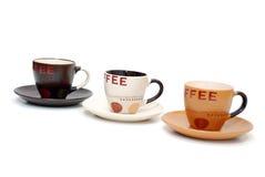 Copos de café Fotografia de Stock Royalty Free