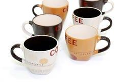 Copos de café Fotografia de Stock