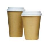 Copos de café Fotos de Stock