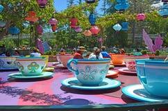 Copos de chá Imagem de Stock