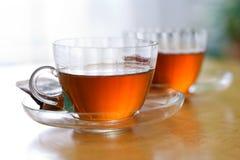 Copos de chá Fotografia de Stock