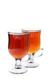 Copos de chá Imagens de Stock Royalty Free