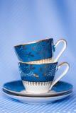 Copos de chá antigos Imagem de Stock
