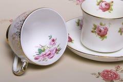 Copos de chá de China Imagem de Stock Royalty Free