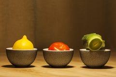 Copos de chá de Japão Fotografia de Stock Royalty Free