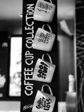Copos de Coffe Imagem de Stock Royalty Free