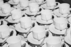 Copos de Coffe Fotografia de Stock Royalty Free