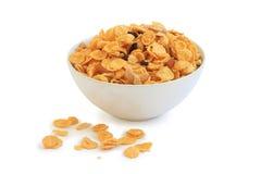 Copos de maíz, cereal fotos de archivo