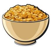 Copos de maíz sabrosos Foto de archivo libre de regalías