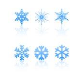Copos de nieve Imagen de archivo