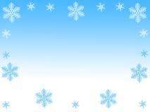Copos de nieve Fotografía de archivo libre de regalías
