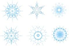 Copos de nieve Imagen de archivo libre de regalías