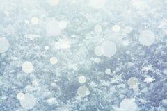 Copos de nieve Fotos de archivo