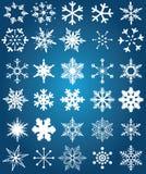 Copos de nieve Foto de archivo libre de regalías