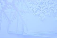 Copos de nieve Imágenes de archivo libres de regalías